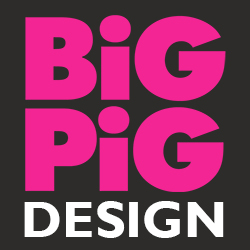 Big Pig Design Logo